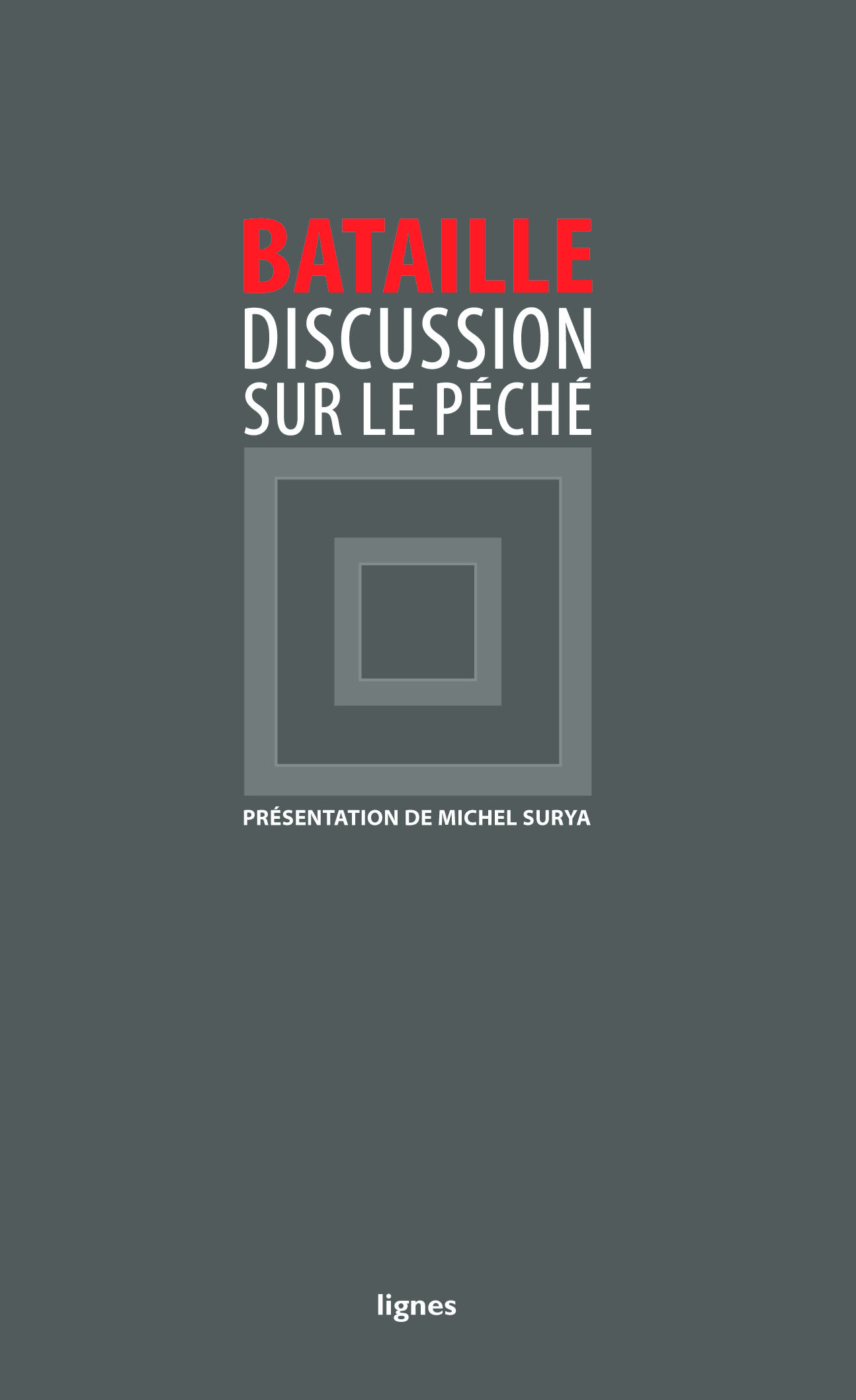 couverture de DISCUSSION SUR LE PÉCHÉ