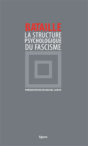 couverture de LA STRUCTURE PSYCHOLOGIQUE DU FASCISME