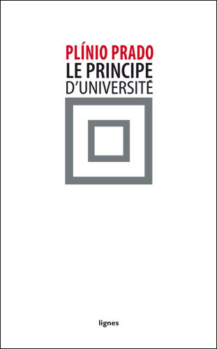 couverture de LE PRINCIPE D'UNIVERSITÉ