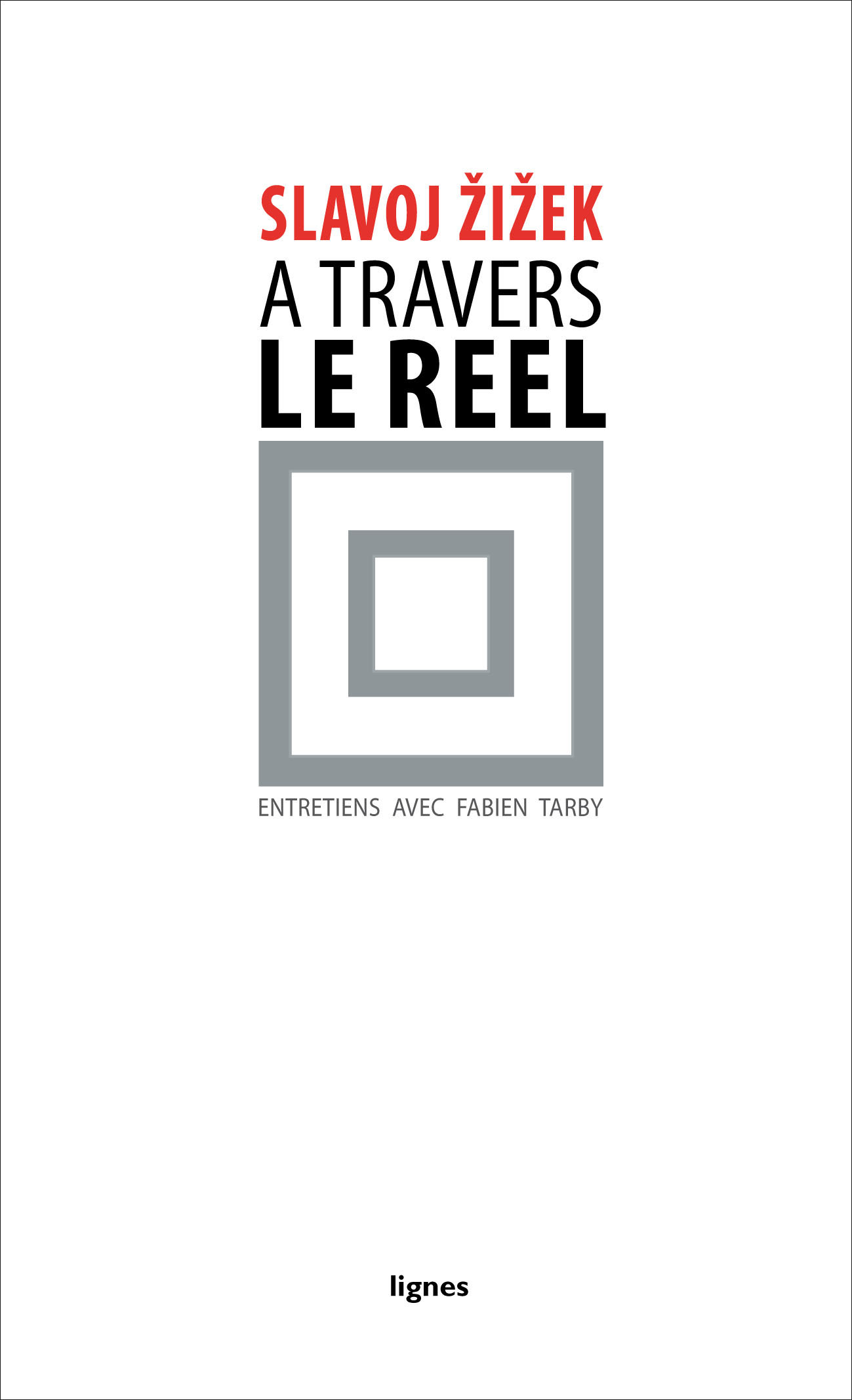 couverture de À TRAVERS LE RÉEL
