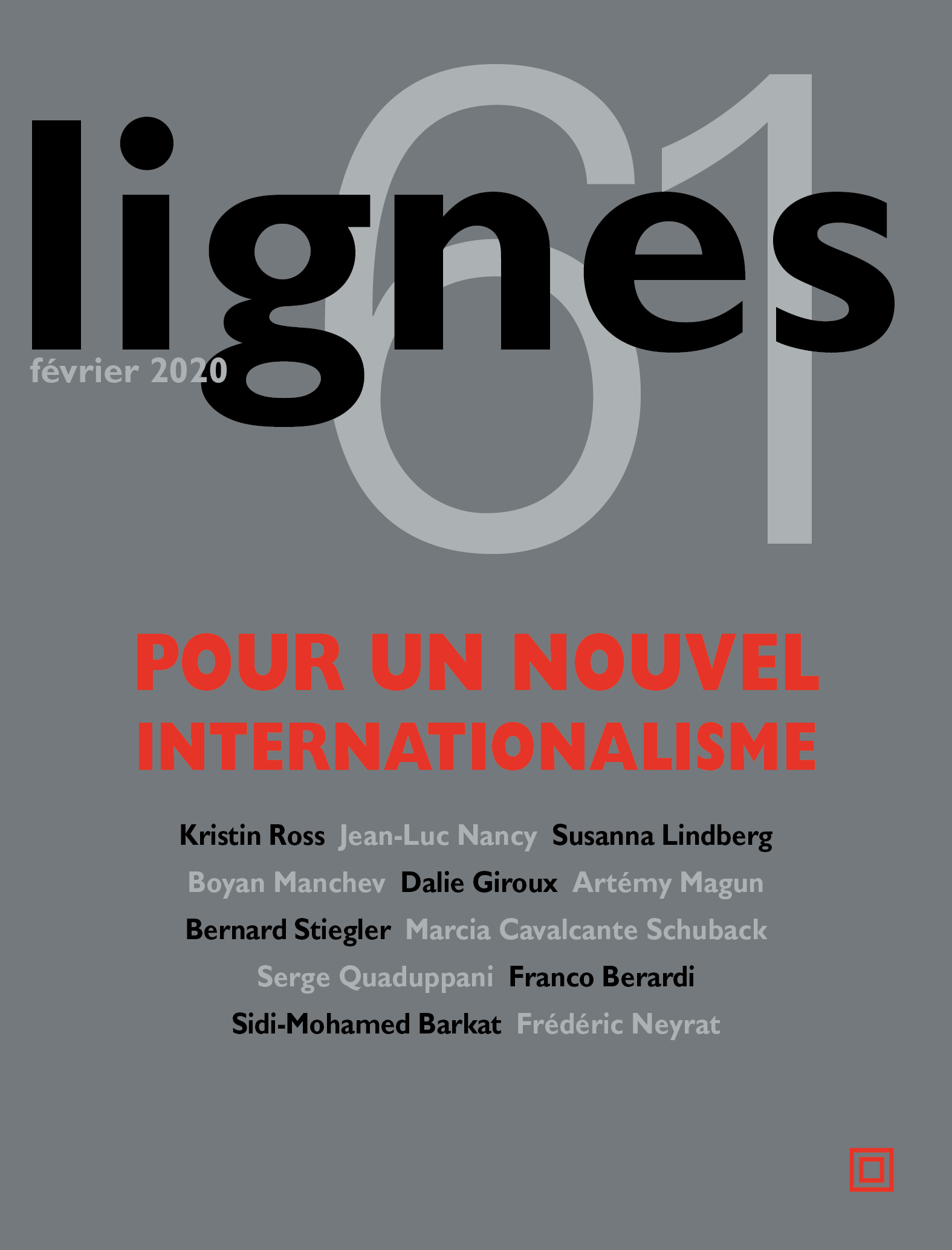 couverture de POUR UN NOUVEL INTERNATIONALISME