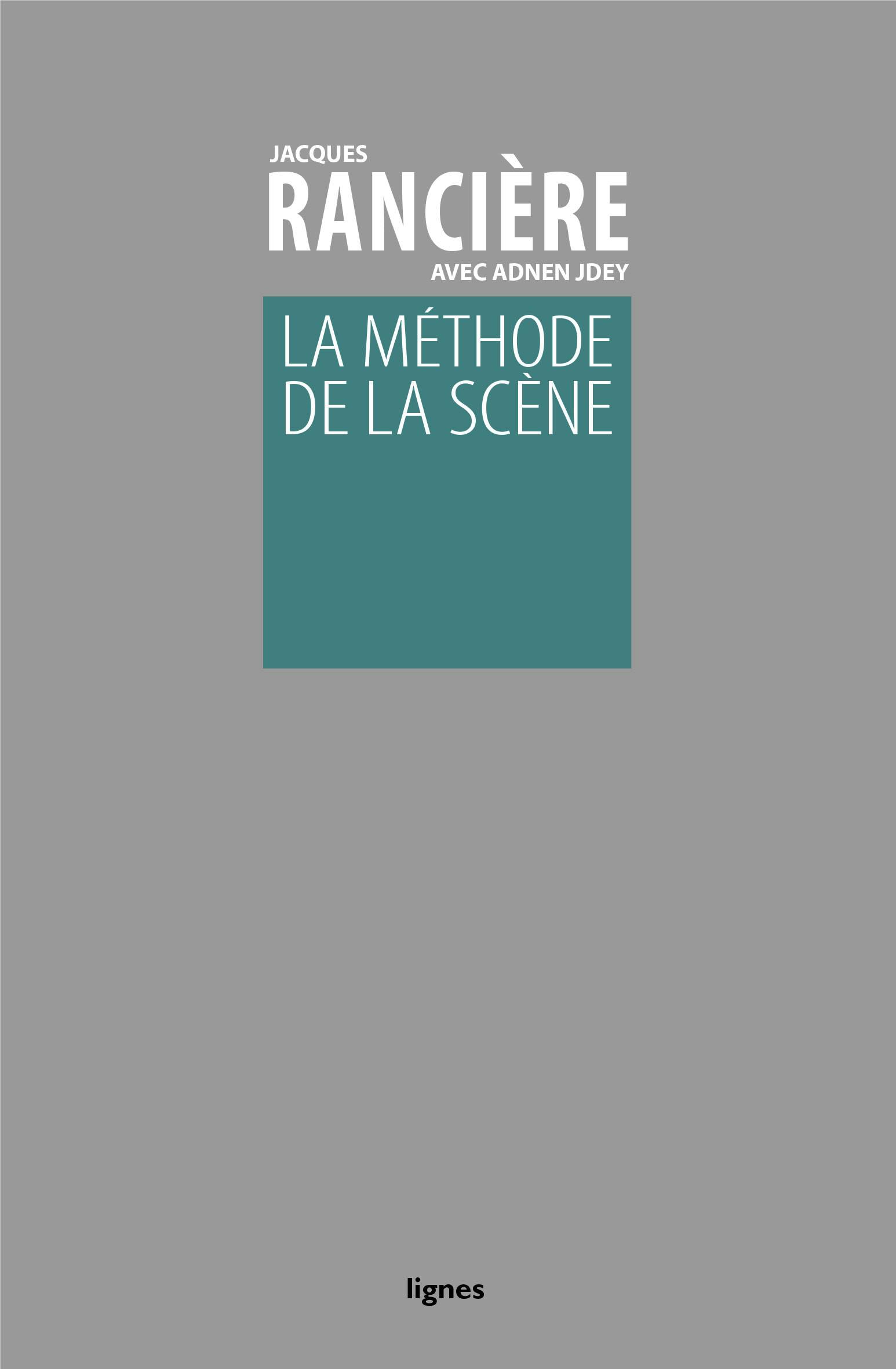 couverture de LA MÉTHODE DE LA SCÈNE