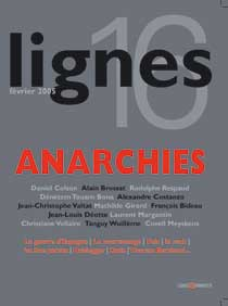 couverture de ANARCHIES